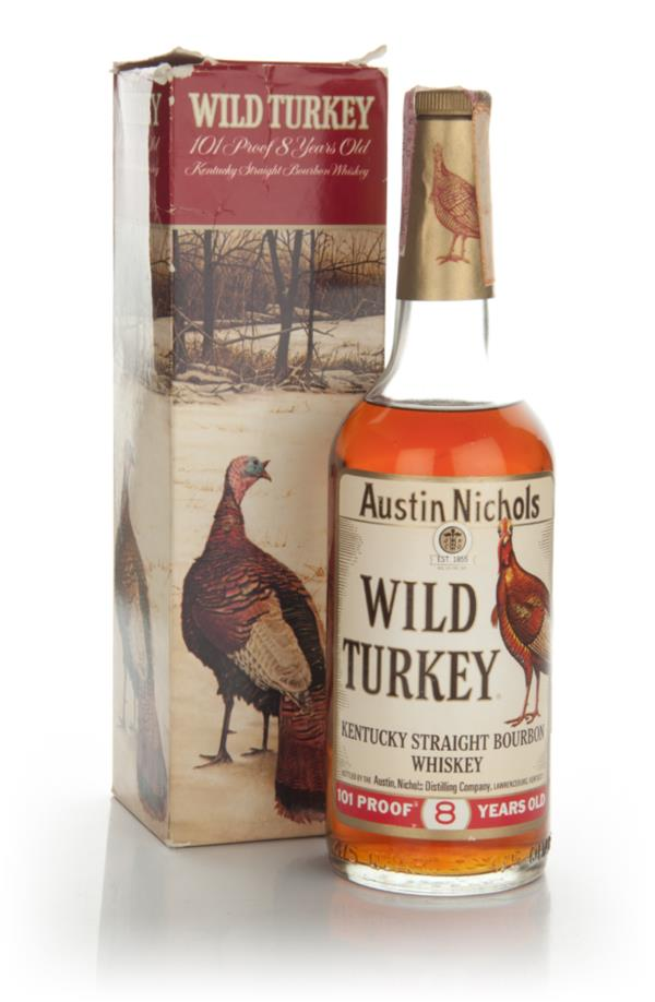 Wild Turkey 8 Year Old - 1970s Bourbon Whiskey