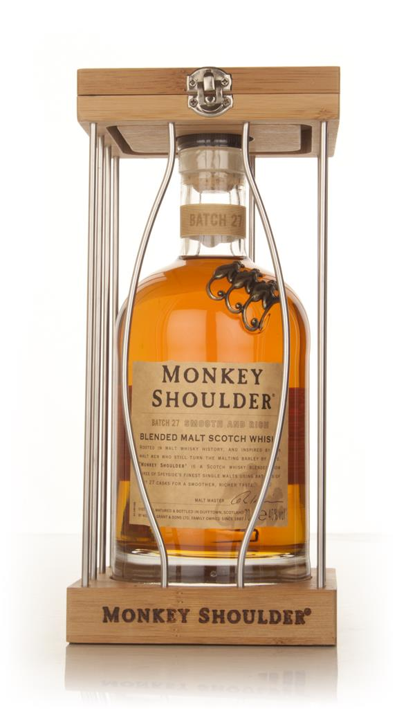 Monkey Shoulder Cage Gift Pack Blended Malt Whisky