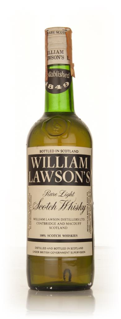 William Lawsons Blended Scotch Whisky - 1960s Blended Whisky