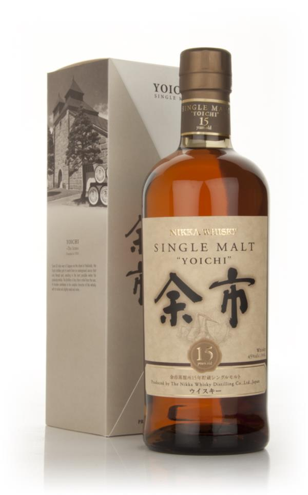 Yoichi 15 Year Old Single Malt Whiskey