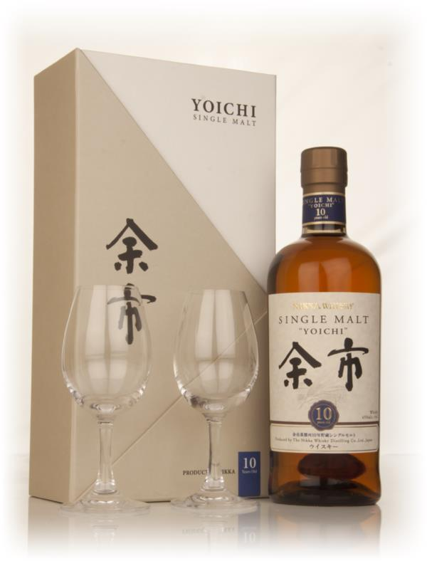 Yoichi Single Malt Glass Gift Set Single Barrel Whisky