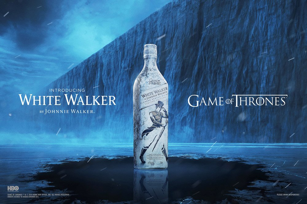 Finally, the Game of Thrones and Johnnie Walker whisky is on its way ...