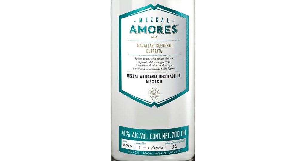 Mezcal Amores Cupreata Bottle 41º - 700 ml