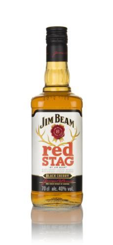 Jim Beam Red Stag Black Cherry Bourbon Whiskey