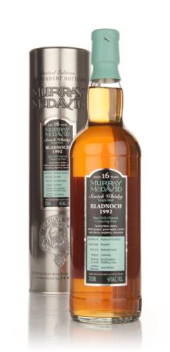 Bladnoch 1992 16 Year Old Murray McDavid Single Malt Scotch Whisky