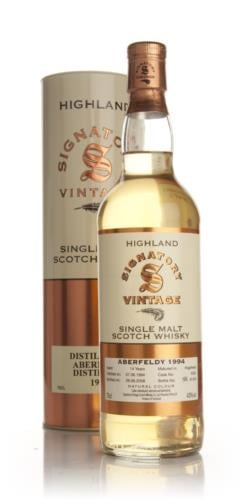 Aberfeldy 1994  14 Year Old  Signatory Single Malt Scotch Whisky