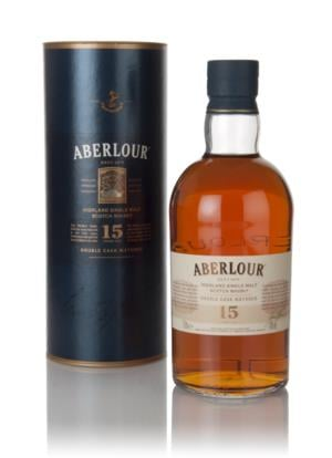Aberlour 15 Year Old Double Cask Matured Single Malt Scotch Whisky