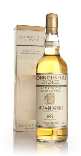 Allt-a-Bhainne 1991  Connoisseurs Choice Single Malt Scotch Whisky