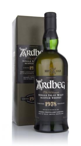 Ardbeg 1978 Single Malt Scotch Whisky