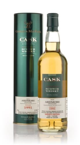 Ardmore 1991 Gordon & MacPhail Cask Strength Single Malt Scotch Whisky