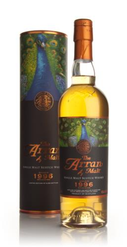 Arran 1996  12 Year Old  Peacock Icons of Arran Single Malt Scotch Whisky