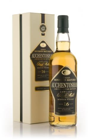Auchentoshan 16 Year Old (Bourbon Cask) Single Malt Scotch Whisky