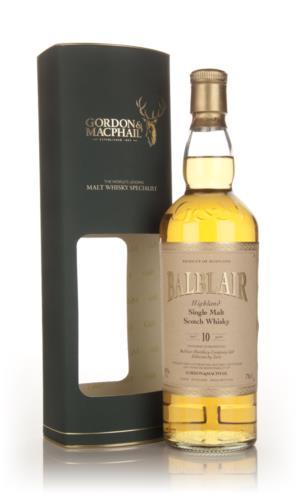 Balblair 10 Year Old Gordon & MacPhail Single Malt Scotch Whisky