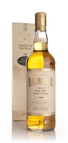 Balblair 1969 Gordon & MacPhail Single Malt Scotch Whisky