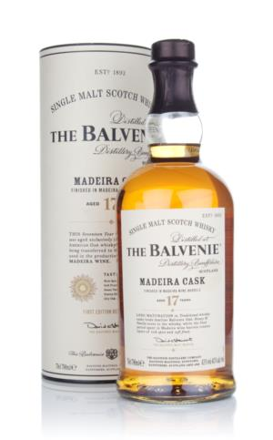 Balvenie 17 Year Old  Madeira Cask Single Malt Scotch Whisky