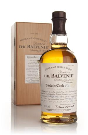 Balvenie 1978 Vintage Cask Single Malt Scotch Whisky