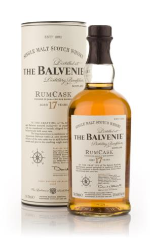 Balvenie 17 Year Old (Rum Cask Finish) Single Malt Scotch Whisky