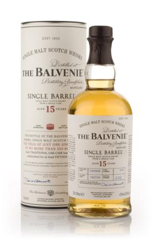 Balvenie 15 Year Old Single Barrel Single Malt Scotch Whisky