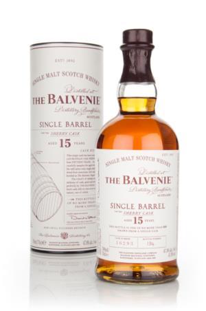 balvenie 15y single barrel sherry cask