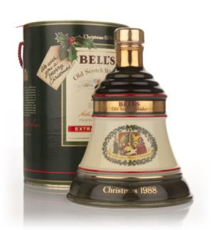 Bells 1988 Christmas Decanter