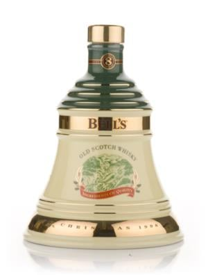 Bells 1998 Christmas Decanter
