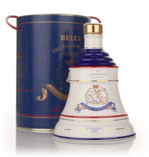 Bells Princess Beatrice 1988 Decanter