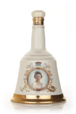 Bells Queen Elizabeth II 60th Birthday 1986 Decanter