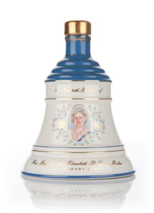 Bells Queen Mother 90th Birthday Decanter