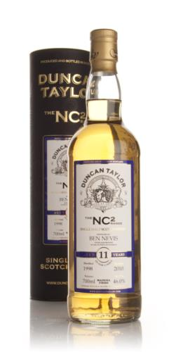 Ben Nevis 1998  11 Year Old  Duncan Taylor (NC2) Single Malt Scotch Whisky