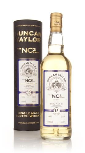 Ben Nevis 1996  13 Year Old  Duncan Taylor (NC2) Single Malt Scotch Whisky
