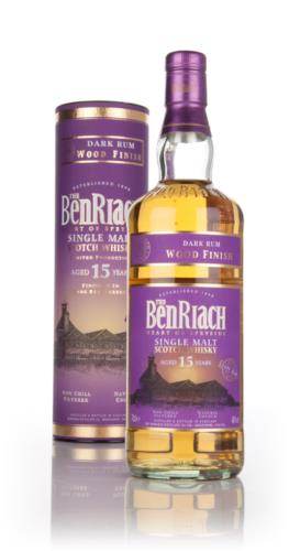 BenRiach 15 Year Old (Dark Rum Finish) Single Malt Scotch Whisky
