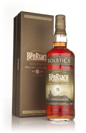 BenRiach Solstice 15 at Master of Malt