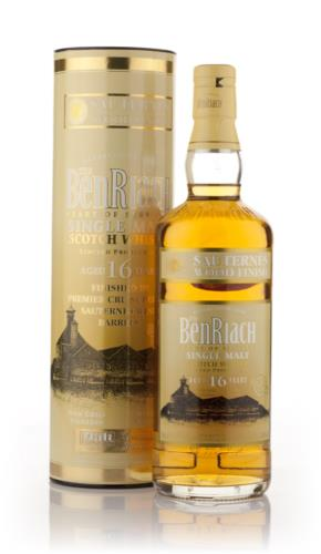 BenRiach 16 Year Old (Sauternes Finish) Single Malt Scotch Whisky