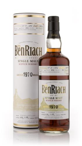 BenRiach 1970  34 Year Old Single Malt Scotch Whisky