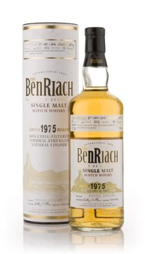 BenRiach 1975  29 Year Old Single Malt Scotch Whisky