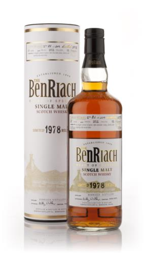 BenRiach 1978  26 Year Old Single Malt Scotch Whisky