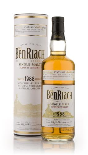 BenRiach 1988 16 Year Old Single Malt Scotch Whisky