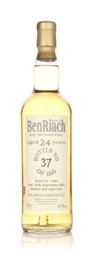 BenRiach 1985  24 Year Old  Bladnoch Single Malt Scotch Whisky