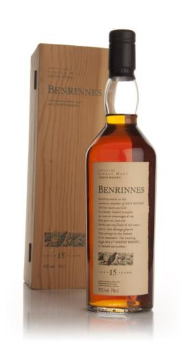 Benrinnes 15 Year Old  Flora and Fauna (Old Bottle) Single Malt Scotch Whisky