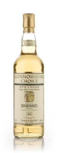 Benrinnes 1991 Connoisseurs Choice Single Malt Scotch Whisky