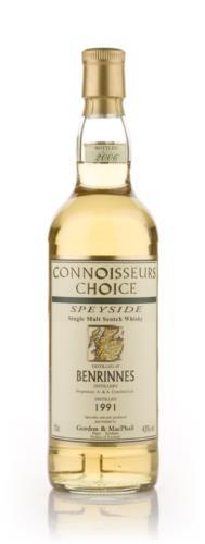Benrinnes 1991 Connoisseurs Choice Single Malt Scotch Whisky