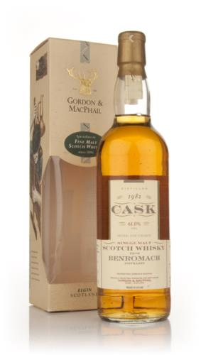 Benromach 1982 Gordon & MacPhail Single Malt Scotch Whisky
