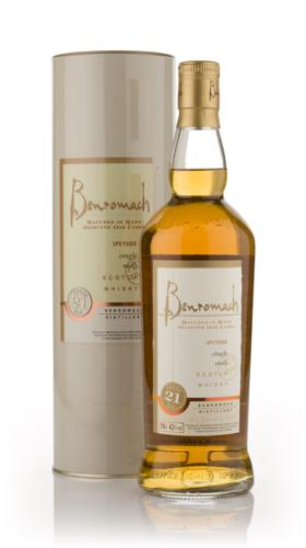 Benromach 21 Year Old Single Malt Scotch Whisky