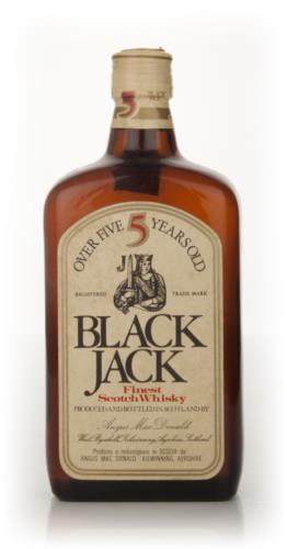 Black jack whisky