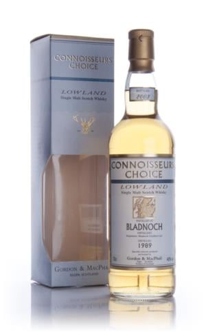 Bladnoch 1989  Connoisseurs Choice Single Malt Scotch Whisky