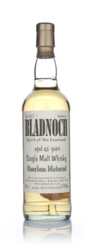 Bladnoch 6 Year Old Bourbon Matured Single Malt Scotch Whisky