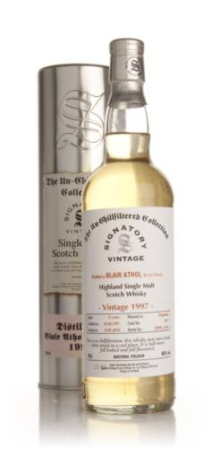 Blair Athol 1997  12 Year Old  Signatory