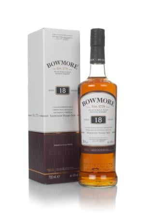 Bowmore 18 Year Old Single Malt Scotch Whisky