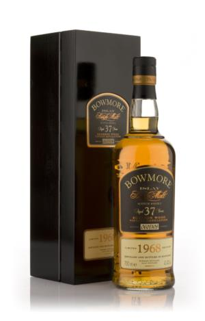 Bowmore 1968 37 Year Old Bourbon Wood Single Malt Scotch Whisky