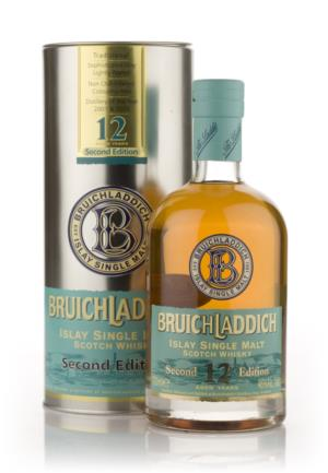 Bruichladdich 12 Year Old  2nd Edition  Single Malt Scotch Whisky
